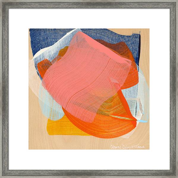 Out Of The Blue 10 Framed Print