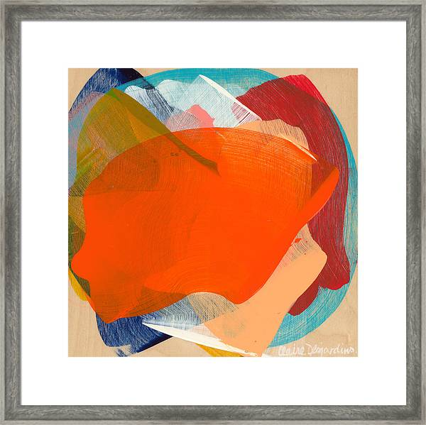 Out Of The Blue 11 Framed Print