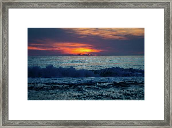 Outer Banks Sunrise Framed Print