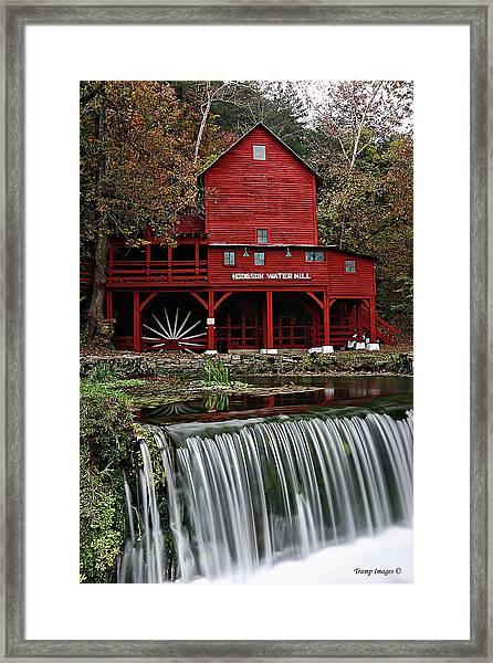 Ozarks Mill Framed Print