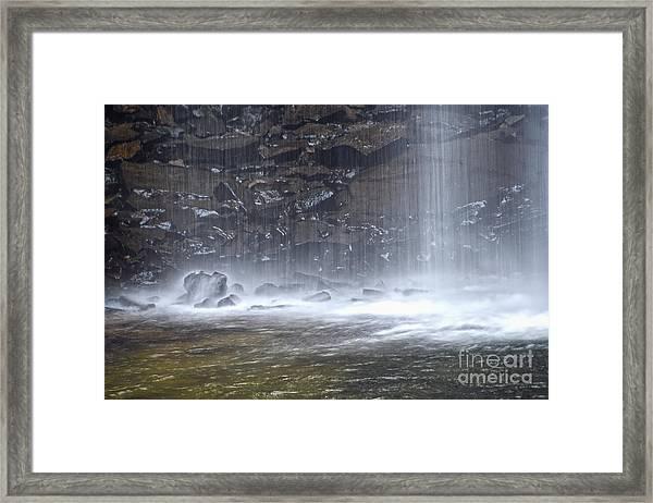 Ozone Falls 12 Framed Print