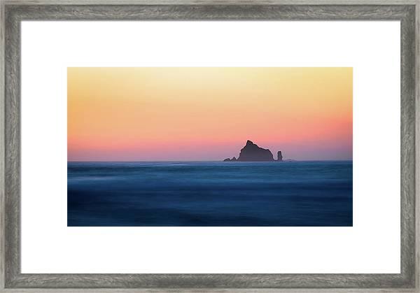 Pacific Sunset Framed Print