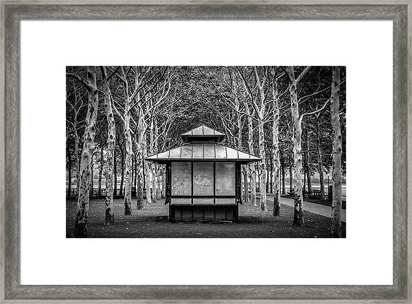 Framed Print featuring the photograph Pagoda by Steve Stanger