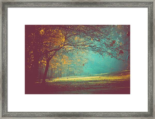 Painted Sunrise Framed Print