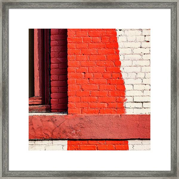 Painting The Town Red Number 1 Framed Print