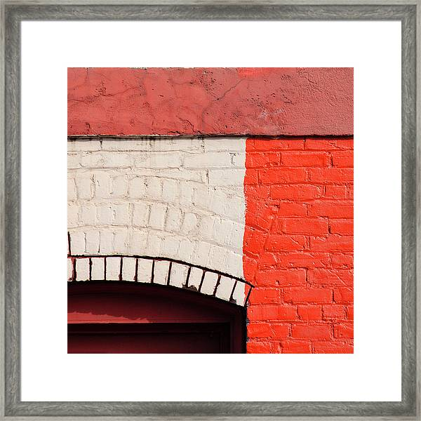 Painting The Town Red Number 2 Framed Print