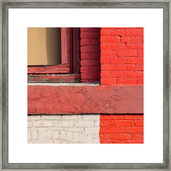 Painting The Town Red Number 3 Framed Print