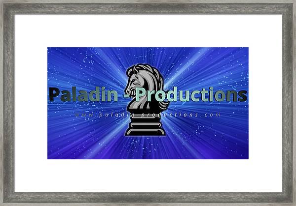 Paladin Productions Logo Framed Print