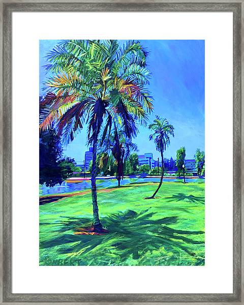 Palm Prints Framed Print