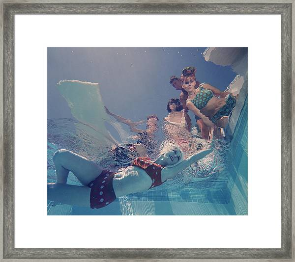 Palm Springs Fashion, No. 8 Framed Print
