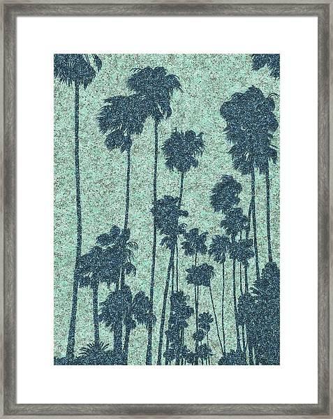 Palms Over Palisades No. 2 Framed Print