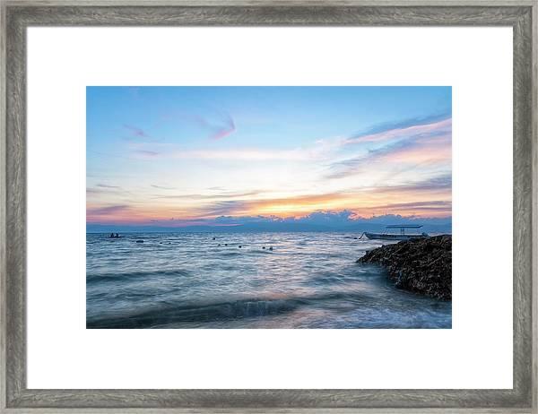 Paradise Beauty Framed Print