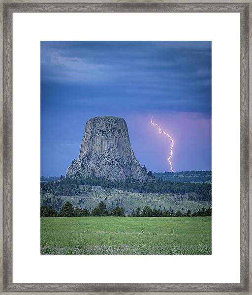 Parallel The Tower Framed Print