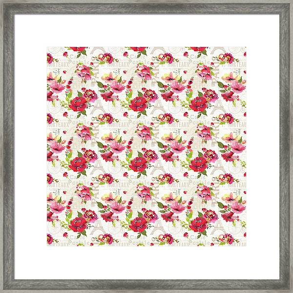 Paris Blossoms C Framed Print