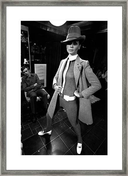 Paris Fashions Framed Print by Evening Standard