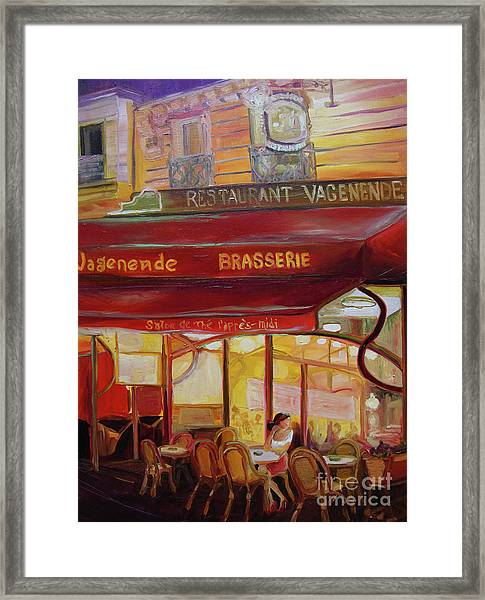 Paris Night Framed Print