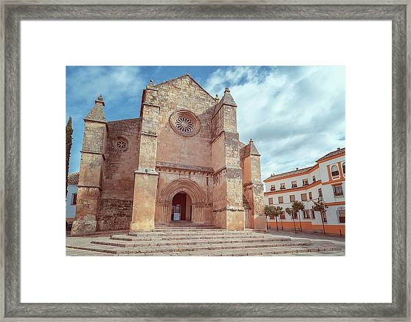 Parish Of Santa Marina Cordoba Spain II Framed Print
