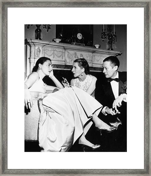 Park Avenue Party Framed Print