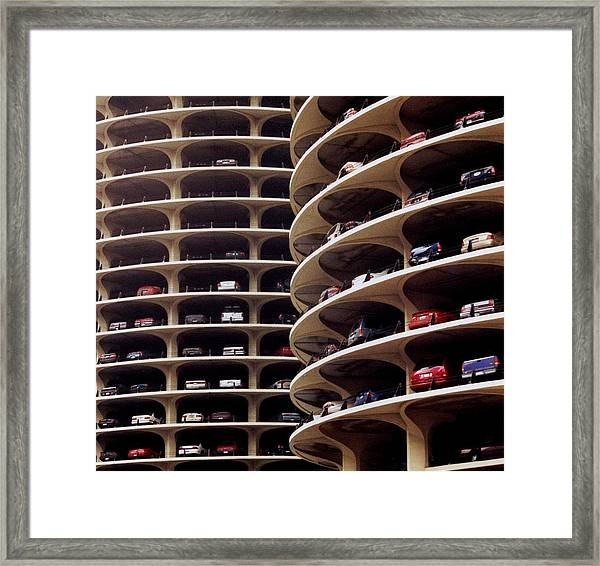 Parking Framed Print