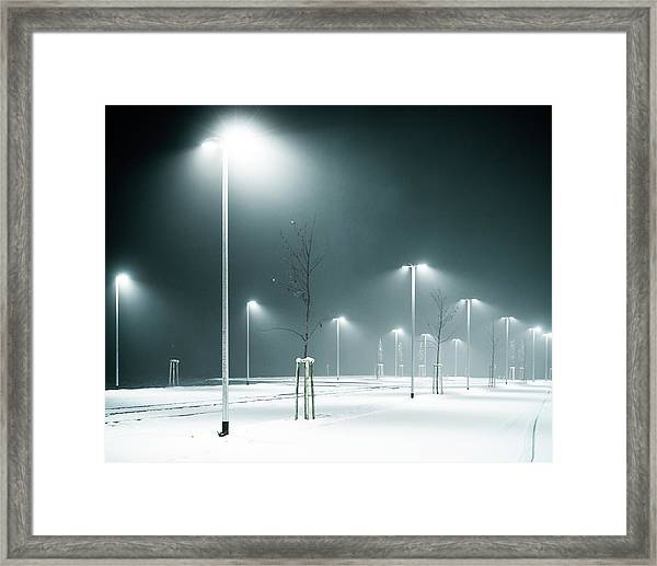 Parking Lot Framed Print by Photography By Andreas Strauch