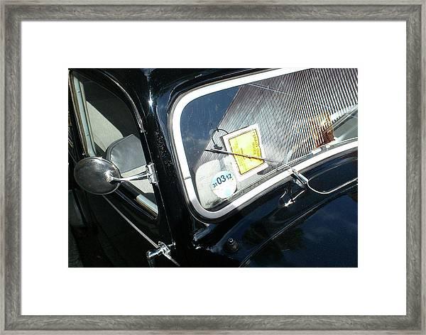 Parking Ticket Framed Print