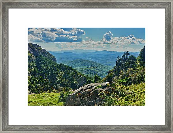 Parkway Overlook Framed Print