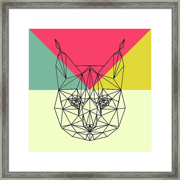 Party Bobcat Framed Print