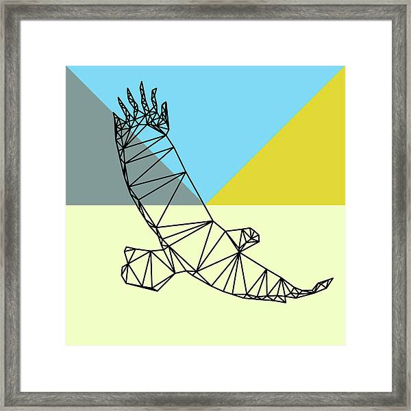 Party Eagle Framed Print