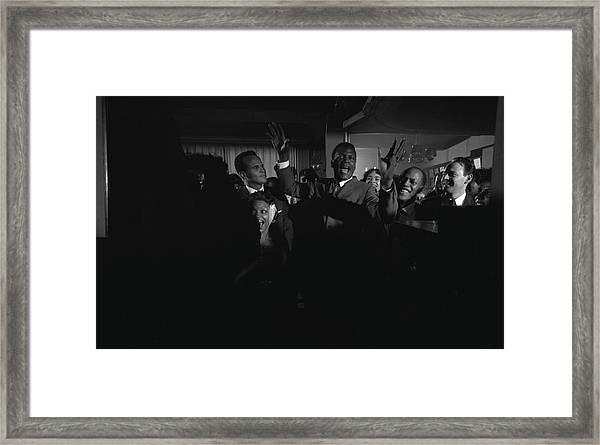 Party For Raisin In The Sun Framed Print