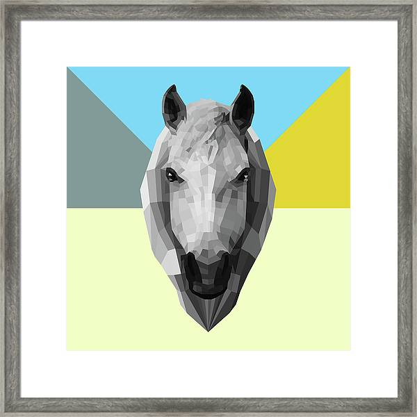 Party Horse Framed Print