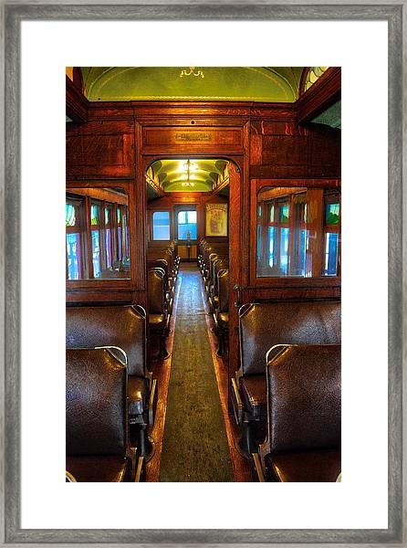 Passenger Train Memories Framed Print