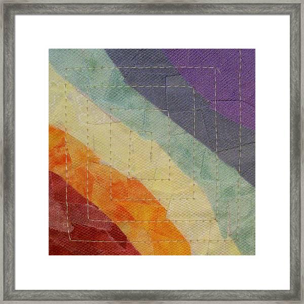 Pastel Color Study Framed Print
