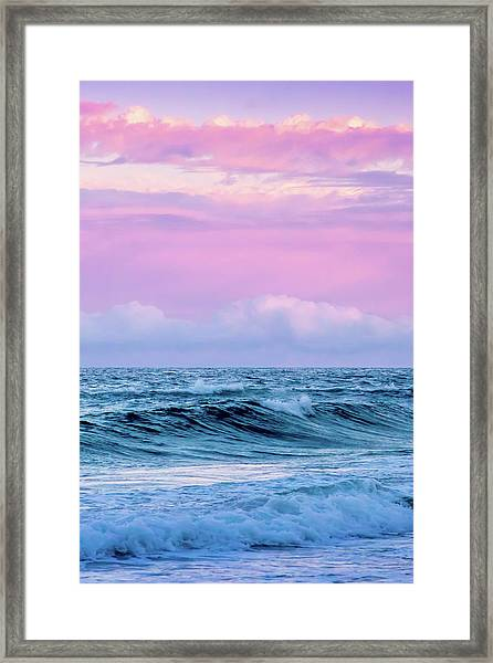 Pastel Summer  Framed Print