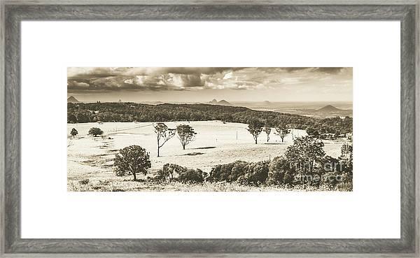 Pastoral Plains Framed Print
