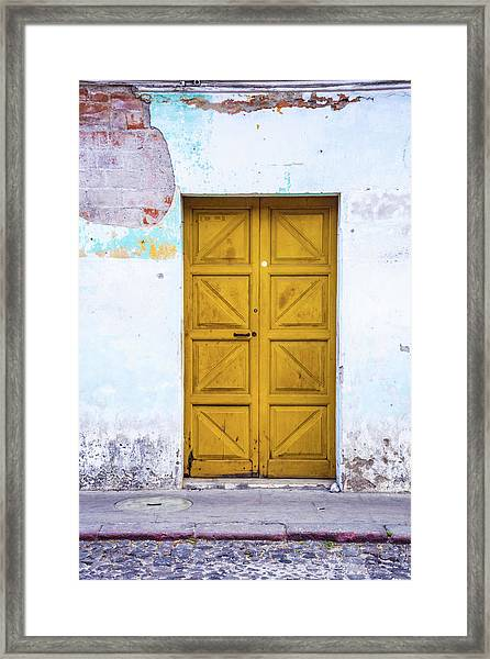 Patina Framed Print