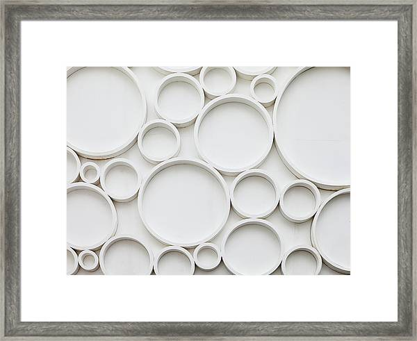 Pattern Of Wall Framed Print