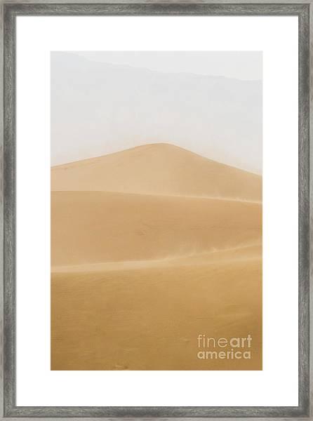 Patterned Desert Framed Print