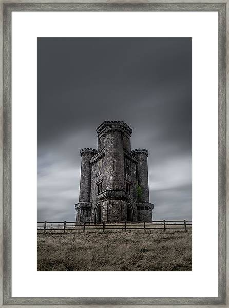 Framed Print featuring the photograph Paxton's Tower by Elliott Coleman