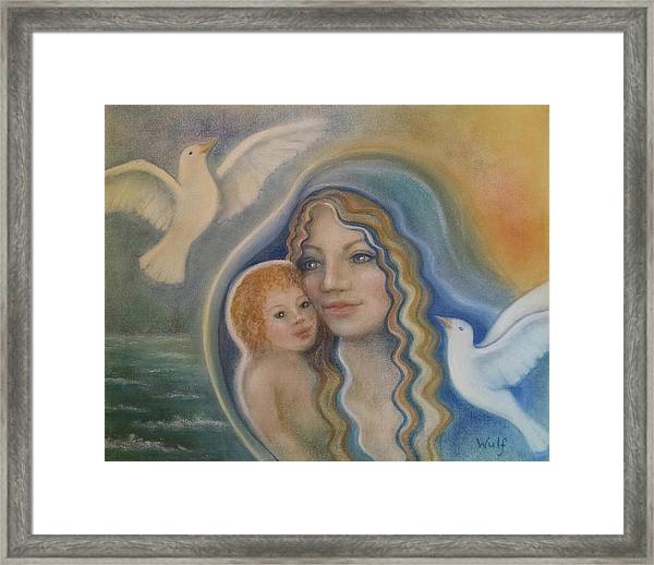 Peace Mother Framed Print