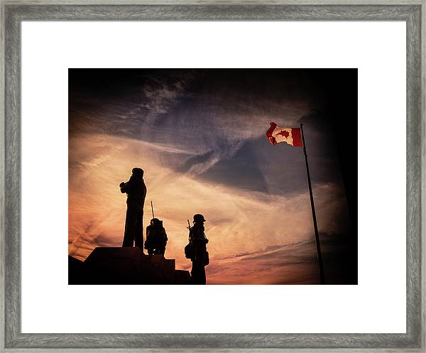 Framed Print featuring the photograph Peacekeepers by Juan Contreras