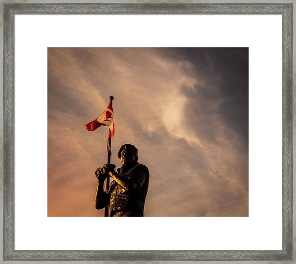 Framed Print featuring the photograph Peacekeeping by Juan Contreras