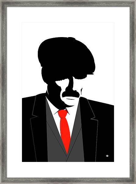 Peaky Blinder 1 Framed Print
