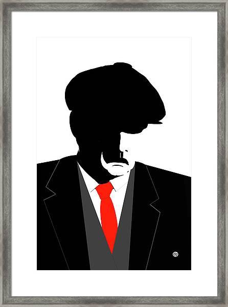 Peaky Blinder 2 Framed Print