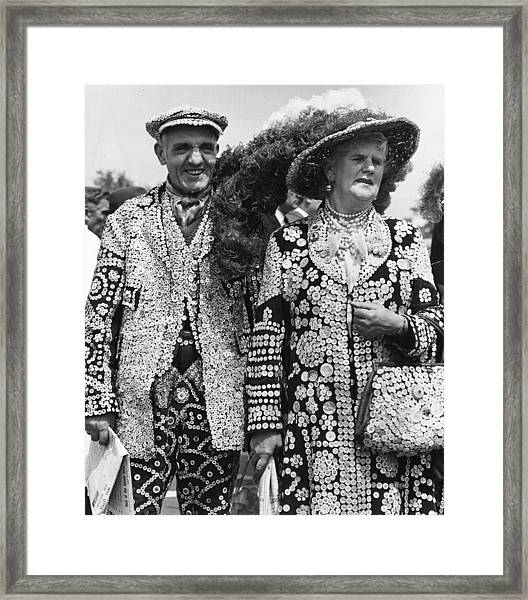 Pearly People Framed Print