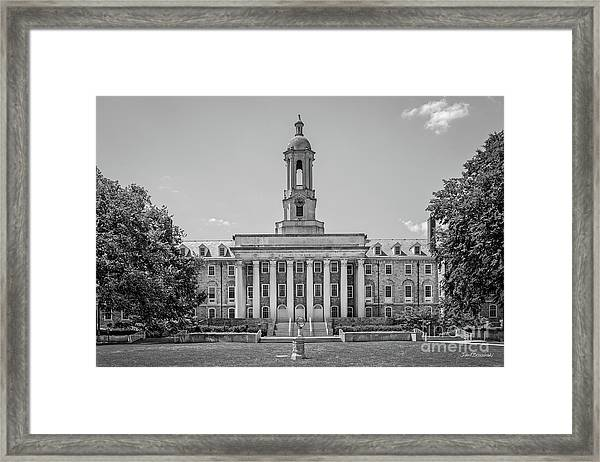 Penn State Old Main  Framed Print
