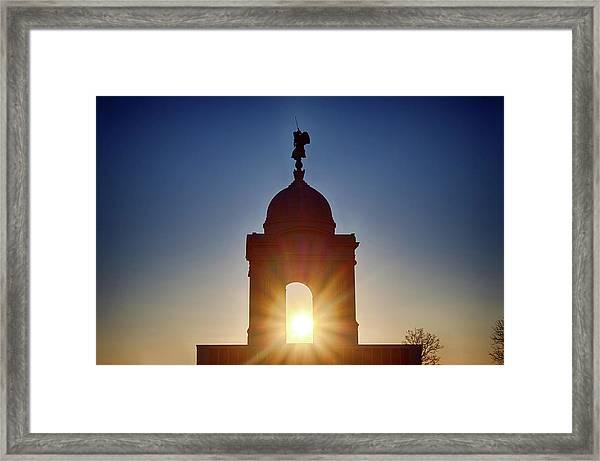 Pennsylvania State Monument Framed Print