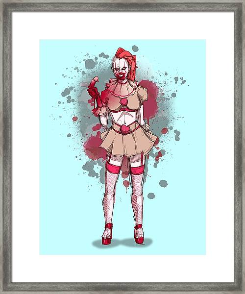Penny Wise 2 Framed Print