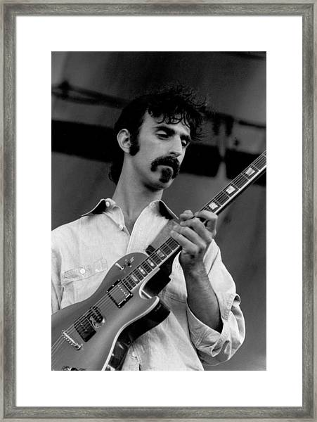 Performing Framed Print by Tom Copi
