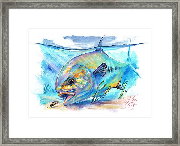 Permit To Fly Framed Print