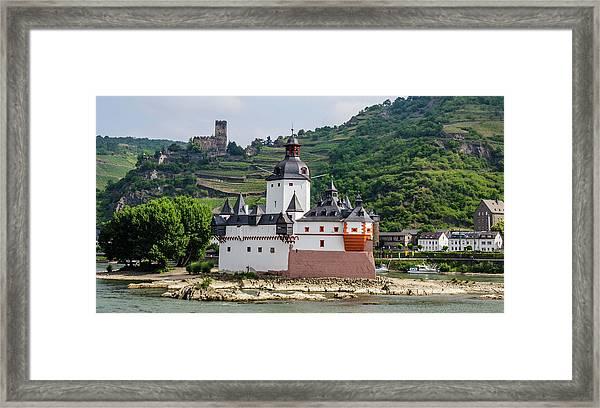 Pfalzgrafenstein Castle Framed Print